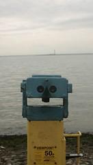 (Sophie Riches) Tags: sea beach point rocks view canon300d distance southend