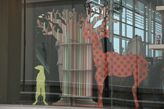 Eco-friendly X-Board animals for retail display