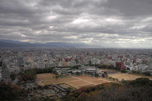 松山市街 HDR