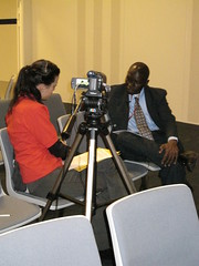 Jennifer Ramos 11 interviews Momoudu Nije of the Gambian Delegation