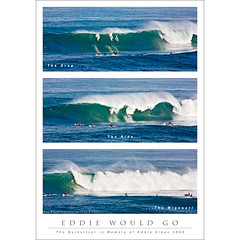 Eddie Would Go! (The Quiksilver 2009) (Rex Maximilian) Tags: ocean sea beach hawaii surf triptych oahu surfer surfing northshore waimeabay kellyslater eddieaikau thequiksilver2009 thequiksilverinmemoryofeddieaikau2009