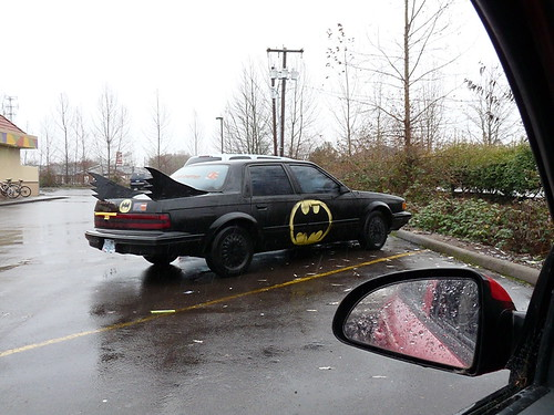 Low-budget Batmobile