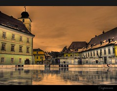 Sibiu city center, HDR