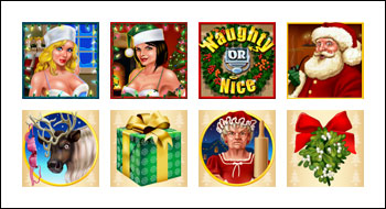 free Naughty or Nice slot game symbols