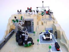 base1 (Rogue Bantha) Tags: lego space micro spacepolice explorian