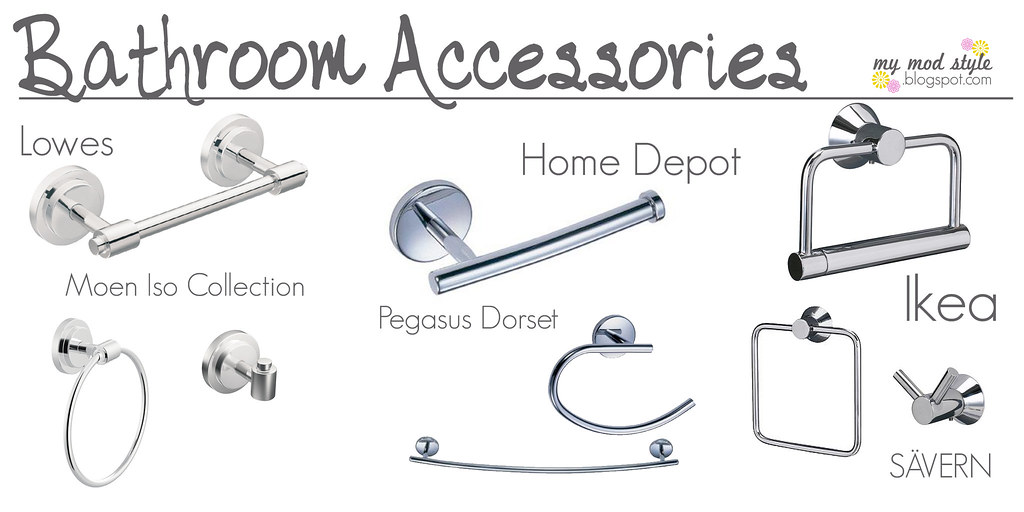 Picking Bathroom Accessories