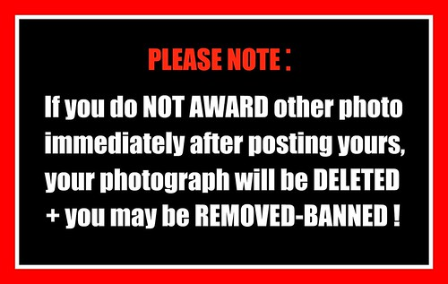AWARD WARNING