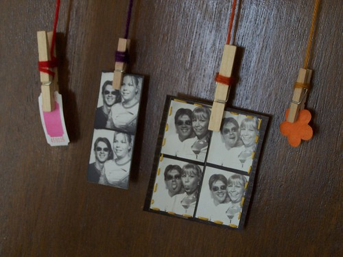 photo wall art closeup