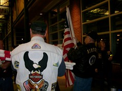 Welcome Home SGT Stephanie Hole (proudnamvet........Patriot Guard Riders) Tags: army tour hole duty iraq guard stephanie patriot sgt riders pgr