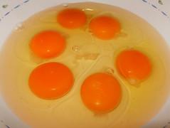 Budín de panettone-huevos