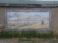 Painting at Gardiner Montana (Bill Jacomet) Tags: montana yellowstone gardiner
