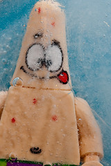 Lego Patrick Star 'on ice'-3 (Sad Old Biker) Tags: uk pink blue wallpaper england cold macro brick film ice wet water face canon movie print children poster square geotagged toy photography star frozen photo kid funny europe frost kevin dof child arms pants lego photos bokeh lol joke under patrick bob frosty humour card photograph laugh bubble parody spoof wtf cracks freezer submerged lmao sponge greeting soggy thaw drown damp anthropomorphism anthropomorphic moist lampoon foc sodden poulton sendup kevinpoulton sadoldbiker