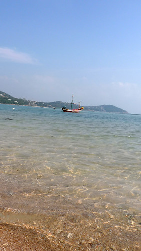 Koh Samui Chaweng beach North end コサムイ チャウエンビーチ 北端2