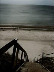 Denmark (JolynB) Tags: sea beach strand stairs canon landscape denmark coast sand scene powershot denemarken kust a410 jolynb