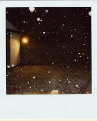 last years snow (iamacosmonaut) Tags: polaroid simoncurran iamacosmonaut savepolaroid snowysnowsnow theimpossibleproject