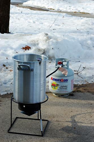TUrkey Frying Setup 02