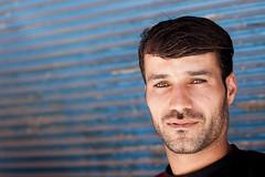 Palestinian camps : Zarka (Olivier Timbaud) Tags: portrait man arabe homme jordanie palestinian erkek virilité zarka palestinien masculinité oliviertimbaud