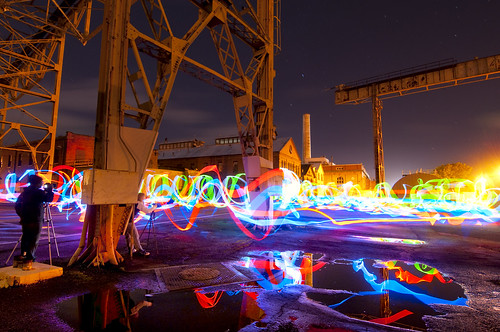 Mare Island Night Photo Shoot