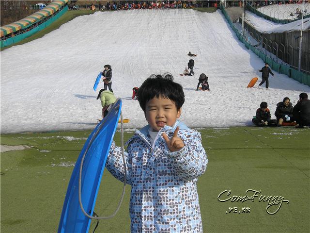 썰매용사 재성이~