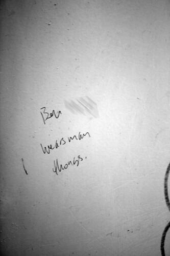 bathroom ben universityofchicago insult regensteinlibrary blevel manthongs blevelmensbathroom