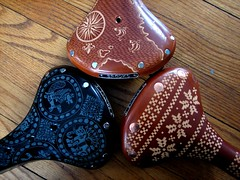 A little preview... (.Kara.) Tags: carved saddles brooks karaginther