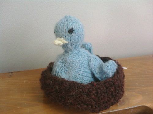 Bluebird from Itty Bitty Knits