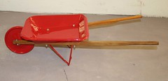 "Restored Vintage Toy Wheelbarrow • <a style=""font-size:0.8em;"" href=""http://www.flickr.com/photos/85572005@N00/4346280483/"" target=""_blank"">View on Flickr</a>"