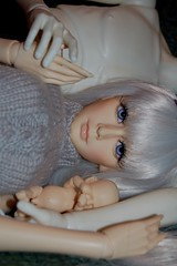 My_baby (1) (V e r o Studio) Tags: tiny bjd resin soom fin christmasbaby domuya dollzone mechaangel flexiperennial