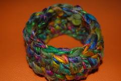 creazioni betta 009 (elisabetta mastrosimone) Tags: lana braccialetto alluncinetto