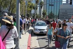 The Line to Enter at LA Street Food Fest