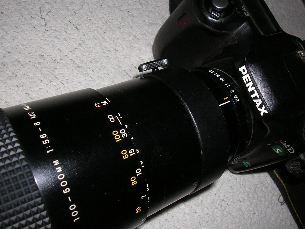 日製CZJ 100-500mm 5.6-8 C/Y 改M42!