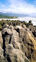 Pancake Rocks (**soniatravel**) Tags: newzealand cliff rocks nz southisland pancakerocks falaise rocher scogli