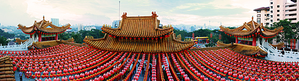 Thean Hou Temple Panorama - s