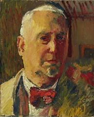 Amiet, Cuno (1868-1961) - 1946 Self Portrait (Kunstmuseum Basel, Switzerland) (RasMarley) Tags: portrait selfportrait swiss 1940s painter expressionism 20thcentury 1946 artistportrait amiet cunoamiet