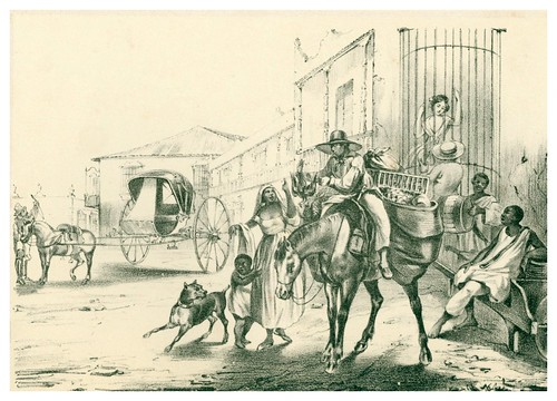 015- El casero cubano-Álbum pintoresco de la Isla de Cuba- 1853