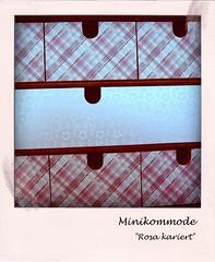 09 (HERZallerliebste) Tags: ikea tapete karo fira schublade kariert ikeafira minikommode