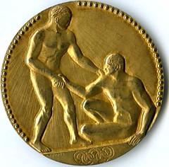 DeHart Hubbard's Olympic gold medal