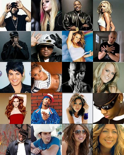 music artists 2