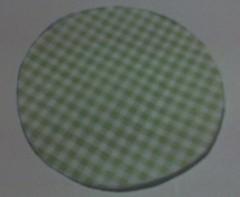 PAP - rosa de tecido (Entre tecidos, linhas e agulhas) Tags: flor fuxico pap euquemfiz