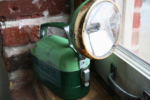 Flashlight - Two-toned Green Delta