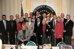 President's_Fitness_Council_when_Arnold_was_chairman (KevinSaunders7) Tags: sports president explosion possible chairman obama nominees paralympics nominee motivationalspeaker paralympian nominated rolemodel kevinsaunders wheelchairathlete overcomingadversity businessspeaker schoolspeaker corporatespeaker christianspeaker motivationalcoach presidentsfitnesscouncil yeasyoucan wheelchairspeaker associationsspeaker inspirationalathlete famousdisabledathlete safetyspeaker corporatesafetyspeaker worldchampionwheelchairathlete fitnesscouncil chairmanoffitnesscouncil possiblenominees choicesforpresident considerationsforchairman presidentscouncilonphysicalfitnesssports presidentsselectionsforfitnesscouncil obamasfitnesscouncil