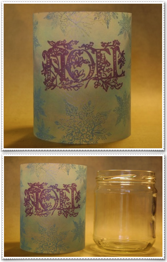 Vellum Candle Covers
