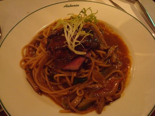 俄式紅酒牛小排義大利麵