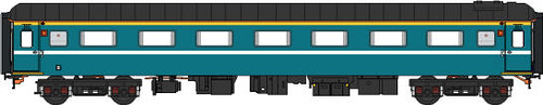 Carriage of charter train (UK) - First class, external, graphic