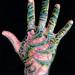 Organic hand tattoo WIP
