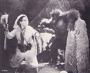 STARK MAD (1929) Louise Frazenda and ape
