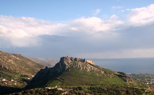 Castelrosso, Karystos