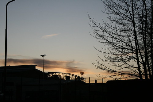 Sunset in gorgie