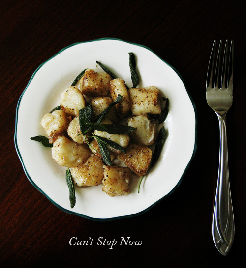 Brown Butter and Sage Gnocchi (with title)