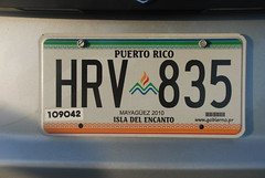 Puerto Rico License Plate (Joe Shlabotnik) Tags: puertorico licenseplate 2010 faved march2010 myphotoseverywhere